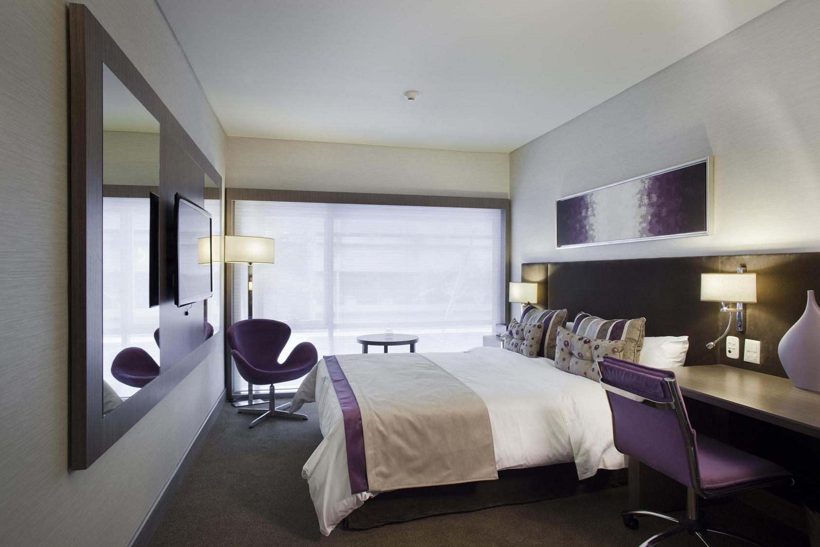 Las habitaciones del Grand Hotel con diseño de Spodek Arquitectos