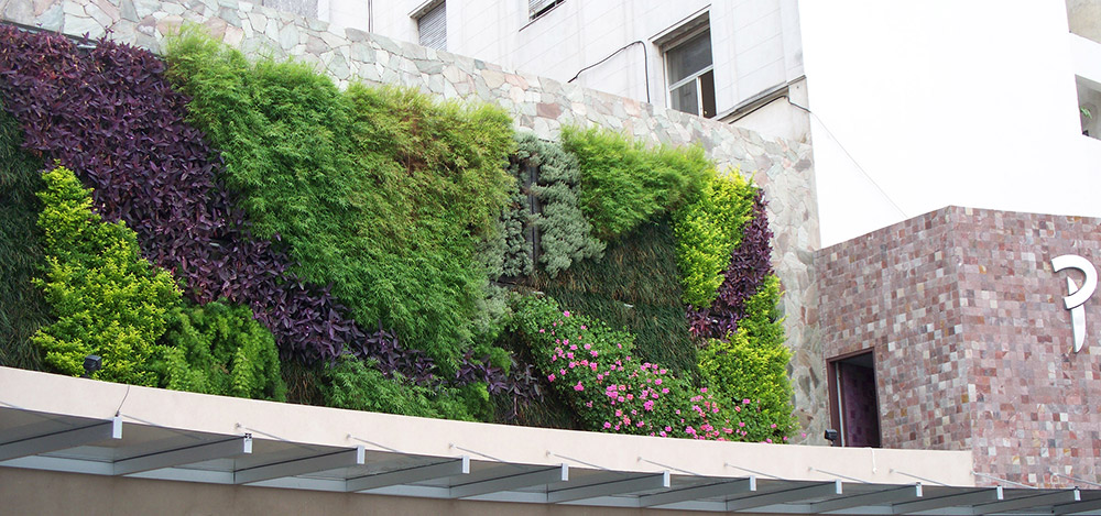 Jardines verticales con dise o g wall tradem style for Jardines verticales argentina
