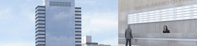 Edificios de Oficina de vanguardia – Belgrano Office 955