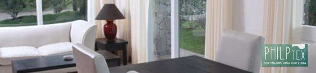 Cortinados para Hoteleria de Calidad – Valeria SOHO – Philptex