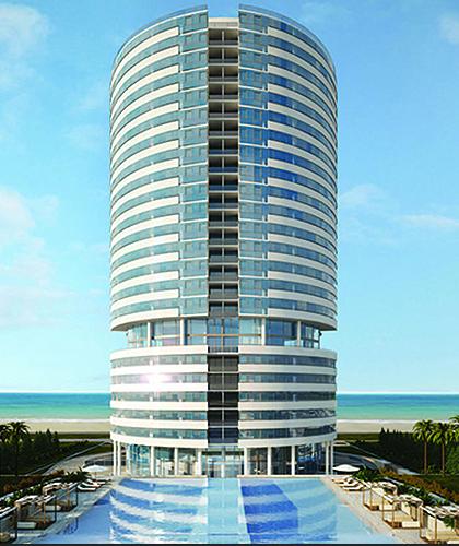 Edificios residenciales de Lujo – Punta del Este – Trump Tower