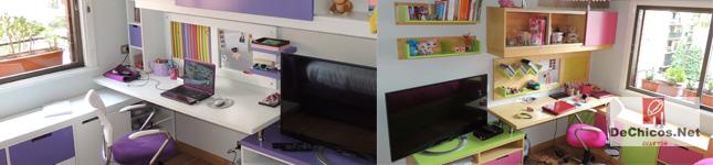 Muebles para dormitorios juveniles en zona norte – DeChicos.Net