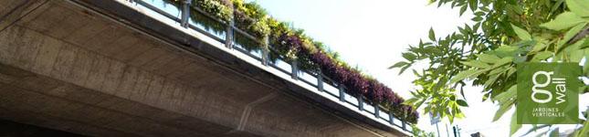 Jardines verticales en espacios públicos – GWall