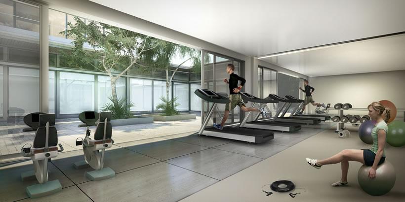 Diseo de gimnasios home gym design ideas youull never - Gimnasio espana industrial ...