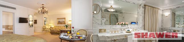 Mamparas de diseño para hoteleria – Alvear Palace – Shawer