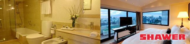 Mamparas de calidad para hoteles –  Panamericano Hotel & Resort – Shawer