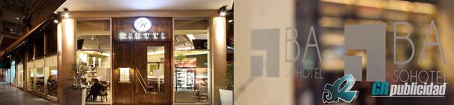 Cartelería y señalética para hoteles – GR Publicidad