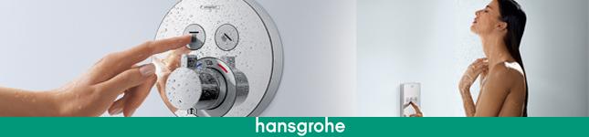 Duchas y griferías para hotelería  – ShowerSelect –  Hansgrohe
