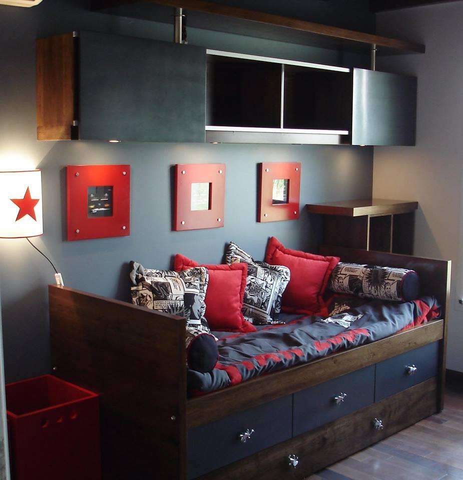 Diseno de dormitorios para jovenes dise os - Diseno de habitaciones ...