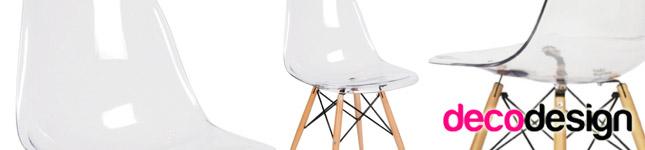 Sillas de diseño en acrílico – Decodesign