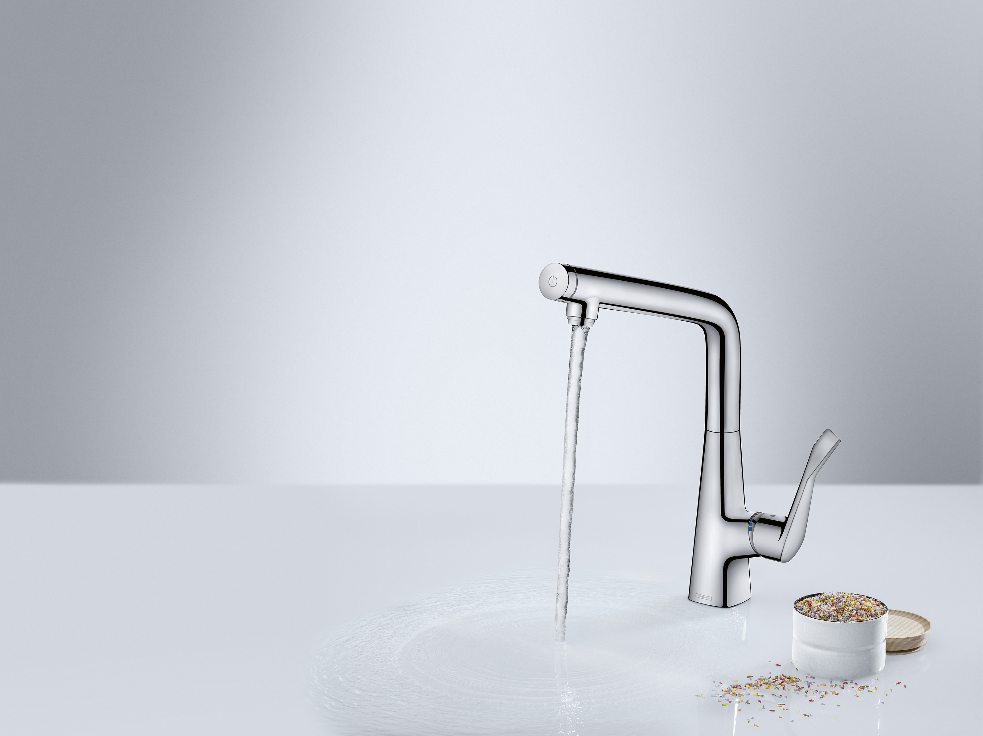 Hansgrohe_MetrisSelect_KitchenMixer _SugarSprinkles