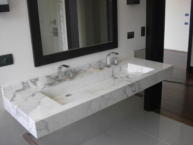 Bachas para ba o silestone for Banos granitos y marmoles