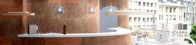 Revestimientos flexibles en piedra para la arquitectura – Pedraflex