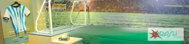 Fábrica de muebles juveniles en el Buenos Aires Design Recoleta – Linea Fútbol – Crash Joven