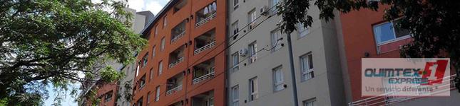 Revestimientos plásticos para exteriores en zona norte – Romano Mix – Quimtex 1