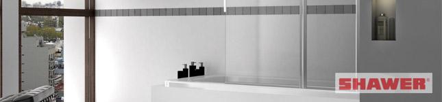 Fábrica de mamparas de calidad para Hoteles – Linea Rebatible – SHAWER