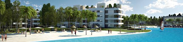 Diseño de condominios de categoría – Lagoon – Lanzamiento de Estilo Pilar