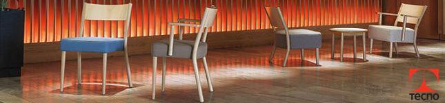 Sillas de vanguardia para hotelería - Paged by Tecno Retail Bs As-portada