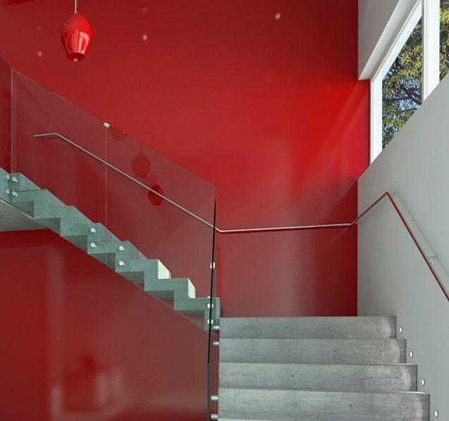 Barandas para escalera en cristal templado de calidad - Escaleras de cristal templado ...