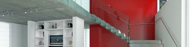 Barandas para escalera en cristal templado de calidad – Shawer