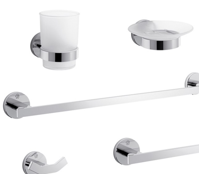 Kit Griferia Para Baño Fv:En esta oportunidad, la firma lanza el kit de accesorios para baños
