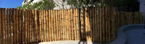 Cercos de bambú para hoteles – Sheraton – Bambú Guazú