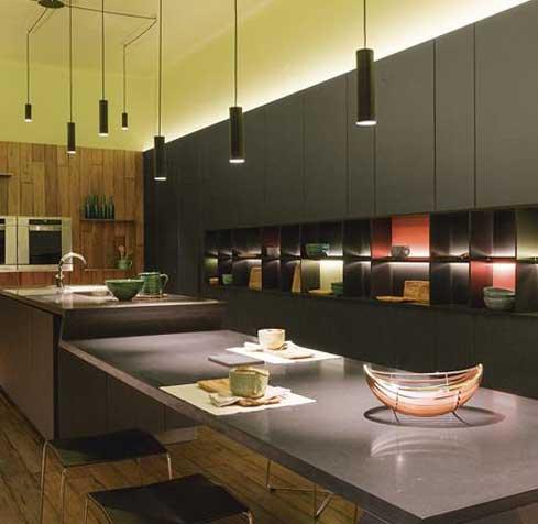 Cocinas de vanguardia en Casa FOA – JOHNSON ACERO