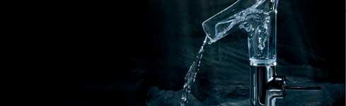 Grifería de vanguardia en cristal – Axor Stark V – Hansgrohe