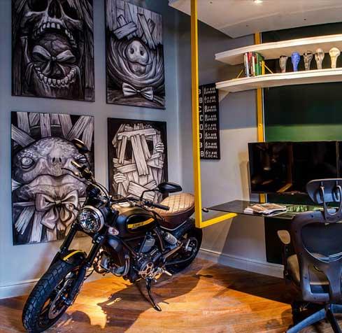 Diseño de monoambiente de vanguardia en Palermo – Casa FOA – Ebeca