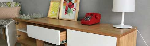 Muebles de guardado estilo escandinavo – Insella