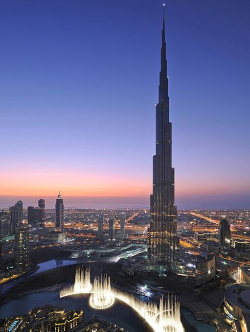 La torre más alta del mundo – BURJ KHALIFA DUBAI