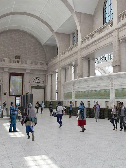 Remodelación de edificios emblemáticos – Terminal Retiro de la linea Mitre – Ariaudio & Asoc.
