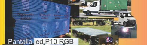 Fábrica de pantallas de led monocolumna – CartelGráfic