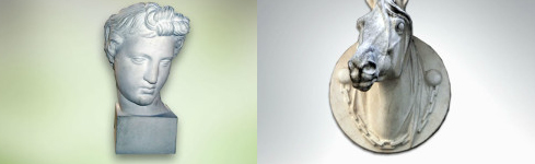 Objetos de arte en piedra para decoración – Bustos y Cabezas – AR Martineau