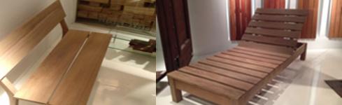 Muebles para exteriores en madera en zona norte – Grupo Forestal