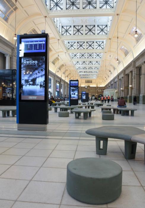 Remodelación integral de edificios emblemáticos – Estación terminal Retiro Línea Mitre – Ariaudo & Asoc.