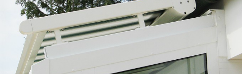 Toldos corredizos motorizados en zona norte – Airomatic – Litleshade
