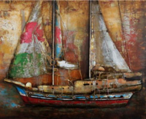 Cuadros 3D para decoración en hierro – Airon Painting – Oil Painting