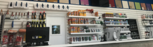 Revestimientos plásticos para exteriores en Zona Oeste – Nuevo local Ituzaingó – Quimtex1