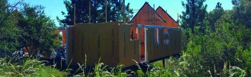 Sistema constructivo sustentable en Córdoba – Villa General Belgrano – SIPANEL