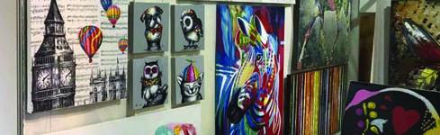 Cuadros modernos al óleo para interioristas – Oil Painting