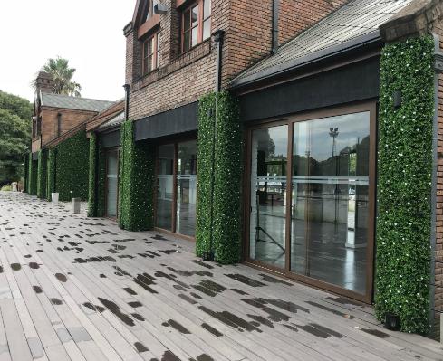 Jardín vertical sin mantenimiento para exteriores – Club Hípico Alemán – Just Green
