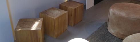 Mobiliario de diseño en Casa FOA – Unidad Modelo – Carpintería Barragán