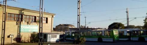 Tratamiento antivandalico para columnas en Córdoba – Trolebus – Ebeca