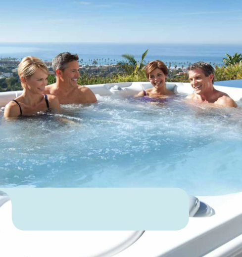 Hidromasaje & Spa de diseño para exteriores – HotSpring – Linea Limelight – AquaMare