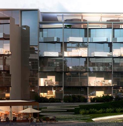 Complejo residencial para profesionales en Pilar– STUDIOS work – life