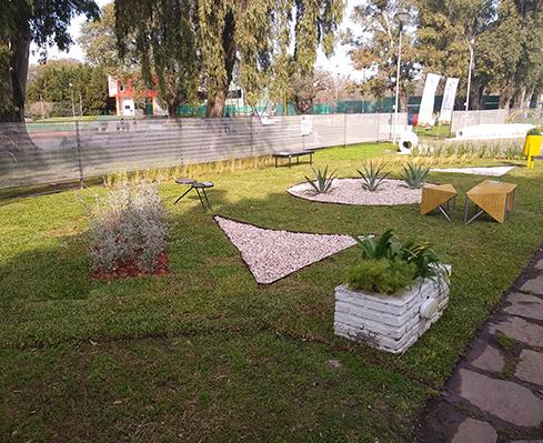 Paisajismo sustentable en Casa FOA – Circulo Olivos – Ing Viviana Fortunati