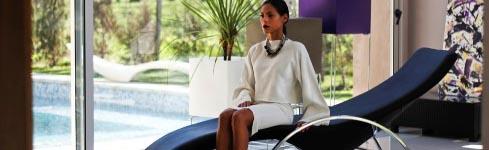 Reposeras de diseño para interiores – Klid Interiér – MOLDAVA