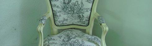 Butacones vintage Luis XV en Palermo- Ebanistas
