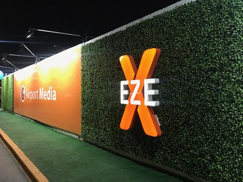 Muro verde sin mantenimiento en Ezeiza- Just Green